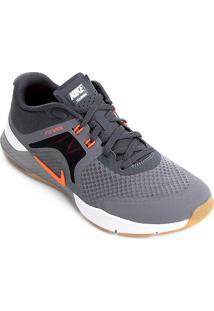 Tênis Nike Zoom Train Complete 2 Masculino - Masculino-Cinza+Laranja