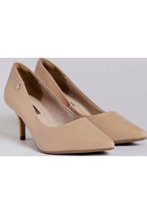 Sapato Scarpin Feminino Via Marte Bege