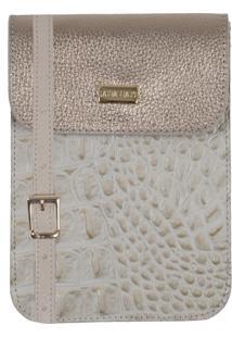 Bolsa Laura Prado Carteira Marfim