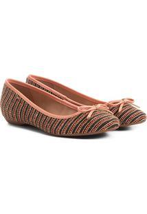 b4ce9cd58 R$ 39,99. Zattini Sapatilha Shoestock Bico Redondo Laço Feminina ...