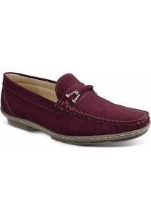 Sapato Masculino Loafer Sandro Moscoloni New Picasso Vinho