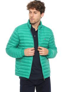 Jaqueta Puffer Tommy Hilfiger Color Verde