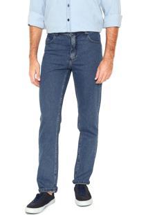 Calça Jeans Lee Reta Chicago Azul