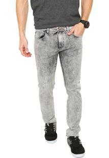 Calça Jeans Element Slim Rise Cinza