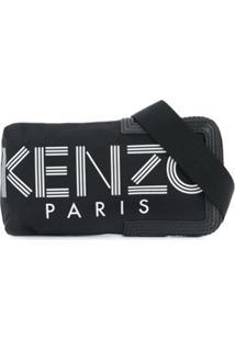 Kenzo Pochete Com Logo - Preto