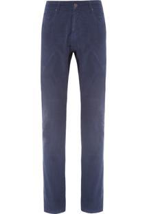 Calça Masculina Veludo - Azul