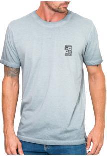 Camiseta Urza Radical Zone Marmorizada Cinza