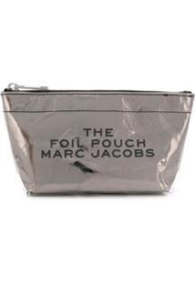 Marc Jacobs Necessaire Foil - Prateado