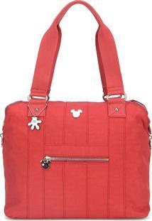 Bolsa Up4You Luxcel Mickey Vermelha
