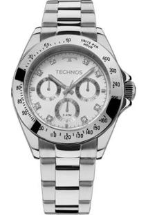 Relógio Technos Ladies - Feminino-Prata