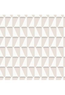 Papel De Parede Geométrico Bege (1000X52)