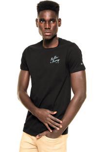 Camiseta Billabong Resort Preta