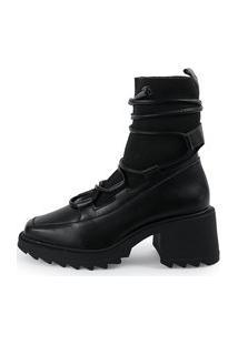 Bota Feminina Its Shoes Tifany Preta