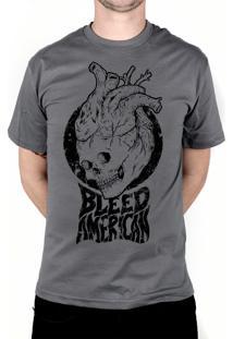 Camiseta Bleed American Medusa Chumbo