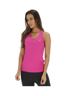 875e0a6b78 ... Camiseta Regata Com Proteção Solar Uv Asics Core Running Pa Tank -  Feminina - Rosa Escuro