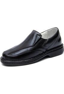 Sapato Ranster Palmilha Massageadora Preto
