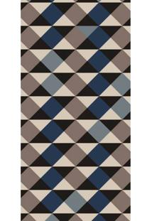 Passadeira Mosaico Forms Antiderrapante 66X240Cm Cinza Casa Dona