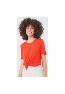 Blusa Dress To Lisa Laranja