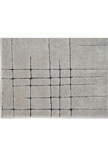 Tapete Sofistik Abstrato- Cinza & Preto- 150X100Cm
