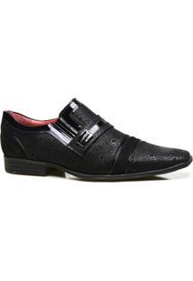 Sapato Social Couro Iod'S Com Textura Masculino - Masculino