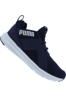 Tênis Puma Enzo Weave Bdp - Masculino - Azul Esc/Branco