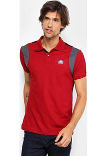 Camisa Polo Fatal Piquet Masculina - Masculino-Vermelho Claro