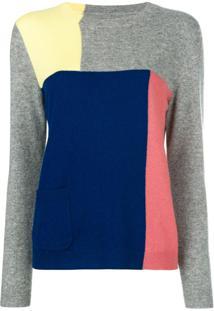 Chinti And Parker Suéter Color Block - Estampado