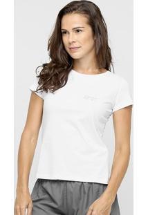 Camiseta Speedo Uv50 Feminina - Feminino-Branco