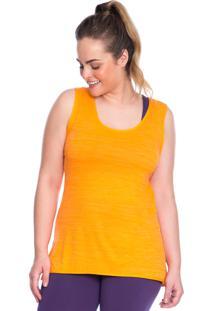 Regata Plus Laranja Active - 553.821P Marcyn Active Camisetas Fitness Laranja