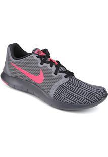 Tênis Nike Flex Contact 2 Masculino - Masculino-Cinza+Rosa