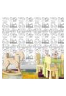 Papel De Parede Autocolante Para Colorir 0,58M Largura X 3,00M Comprimento - 111778997