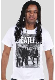 Camiseta Bandup! The Beatles Hey What'S That - Masculino