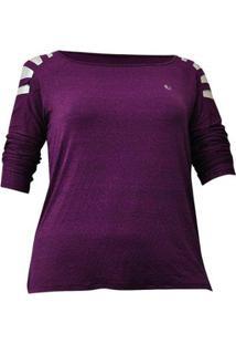 Camiseta Plus Size Way Jab - Feminino