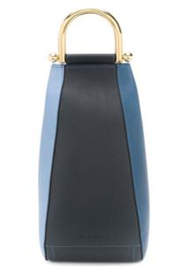 Jw Anderson Small Wedge Shoulder Bag - Azul