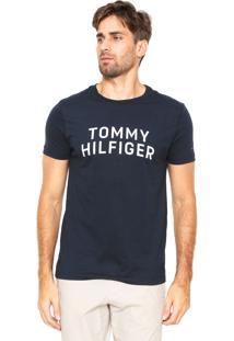 Camiseta Tommy Hilfiger Grap Azul