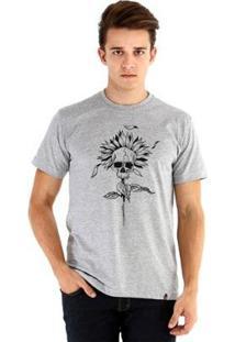 Camiseta Ouroboros Manga Curta Girassol - Masculino
