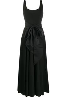 Polo Ralph Lauren Cady Maxi Dress - Preto