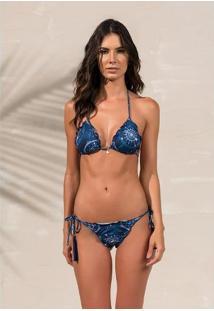 Biquíni Ripple Sophia Azulic - Larissa Minatto Azul