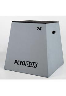 Banco Para Salto Pliométrico Plyo Box - 24? (60,96Cm) - Unissex