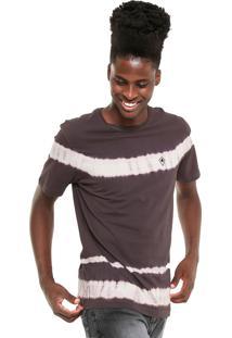 Camiseta Mcd Tie Dye Stripes Roxa/Rosa