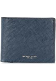 Michael Kors Collection Carteira Harrison - Azul