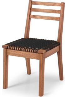Cadeira Cordoba Assento Corda Preta 86Cm - 60378 - Sun House