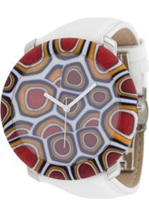 Yunik Relógio Nikki 44Mm Grande - Branco