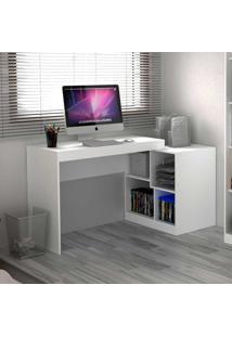 Mesa Para Computador 2 Em 1 Branco Tx - Hecol