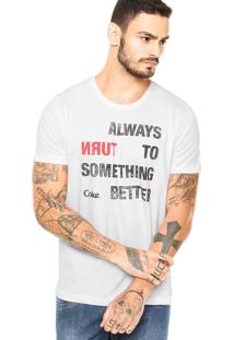 Camiseta Coca-Cola Jeans Always Branco
