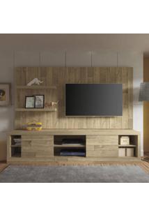 Estante Home Boss Para Tv Até 50 Polegadas 2 Portas Artely Rústico
