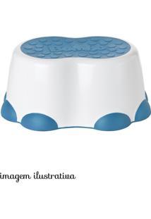 Banquinho Branco E Azul
