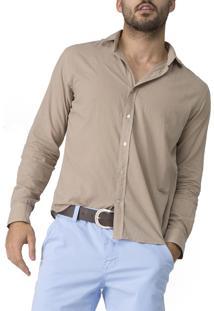 Camisa R.Mendes Monaco Marrom