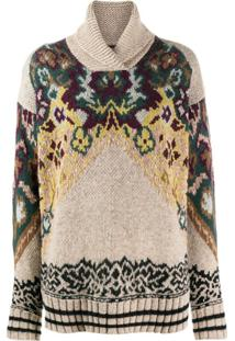 Etro Suéter Com Padronagem Paisley - Neutro