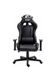 Cadeira Gamer Profissional Snake Mamba Negra Reclinavel Giratoria Preta 9183